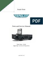 EAGLE TUGS - Parts Service Manual