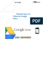 Manual del Taller de Google Drive