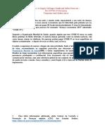 Health and Safety Protocol - COVID19 - 3-28.Portugues