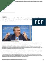 DW OMS diz que assintomáticos também transmitem covid-19 _ Novidades da ciência para melhorar a qualidade de vida _ DW _ 09.06.2020