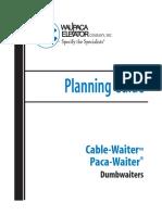 Dumbwaiter Installation pdf