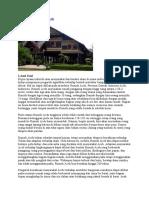 Sejarah Rumah Adat Aceh
