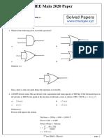 JEE MAIN 2020 Solved Papers (crackjee.xyz).pdf