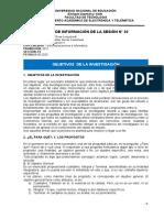 HOJA DE INFORMACIÓN DE LA SESIÓN N02 objetivos de la investigacion.docx