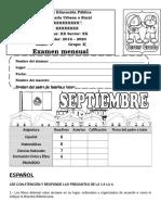 Examen3erGrado septiembre