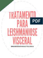 Tratamento para Leishmaniose visceral
