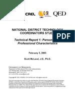 2003 McLeod NCREL Technical Report 01