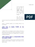 Reparar tarjeta t-con - Kits de electrónica y circuitos_