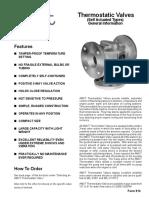 thermostatic valve AMOT