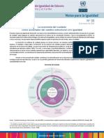 CEPAL (2020), Nota para la Igualdad N°30 - La economía del cuidado como acelerador del cambio estructural con igualdad