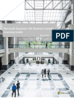 Dynamics 365 Business Central Licensing Guide - May 2020