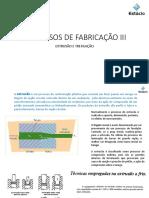 PROCESSOS DE FABRICAÇÃO III - ESTAMP