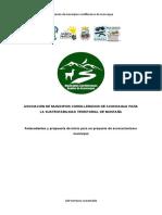 elementos para un proyecto de asociacionismo municipal