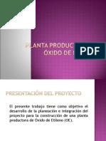 PLANTA PRODUCTORA DE  ÓXIDO DE ETILENO