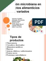 Alteracion microbiana Alimentos varios