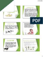 Alteracion microbiana de la leche y sus derivados