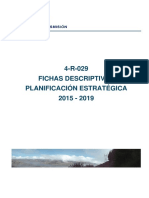 Planificacion Estrategica 2015 - 2019
