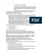 Criterios obra eléctrica y componentes