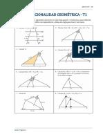 Proporcionalidad Geométrica  T1