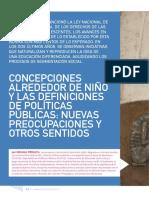 Perazza Roxana- Concepciones de Niños y políticas públicas