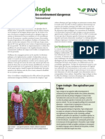 PAN Position Paper on Agroecology (French)