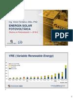 8. Energía Solar Fotovoltáica