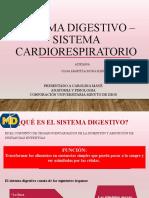 SISTEMA DIGESTIVO - CARDIORESPIRATORIO
