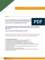 Lectura complementaria - Referencias - S6