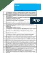 lista de chequeo gestion ambiental