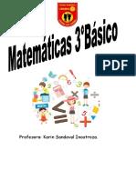 Cuadernillo de Actividades Matemáticas Junio_3ro Básico