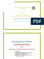 8 DIFERENCIACION SUELOS MINERALES Y ORGANICOS