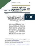 Terapia cognitivo-conductual t.o.c