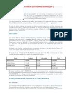 PRESENTACIÓN DE ESTADOS FINANCIEROS (NIC 1)