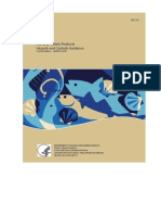 GUÍA DE PELIGROS Y CONTROLES PARA PESCADO Y PRODUCTOS PESQUEROS DADA POR EL FDA EN MARZO 2020