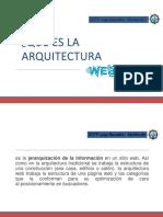 arquitectura web 2020