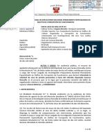 Resolución Judicial Del Caso José Luis Cavassa Roncalla