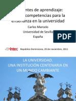 ambientesdeaprendizajeenlauniversidad-111129050717-phpapp02