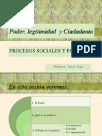 2016-2 CLASE   PODER - POLÍTICA - CIUDADANÍA K