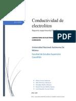 Reporte 2 Electroquímica y Corrosión