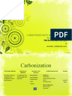 Carbonized Rice Hull Through Slow Pyrolysis Experimental Plan