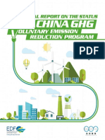 Analytical Report on the Status of the China GHG Voluntary Emission Reduction Program