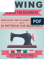 Sewing_ Sewing For Beginners - Quick & Easy Way To Learn How To Sew With 50 Patterns for Beginners! ( PDFDrive.com )