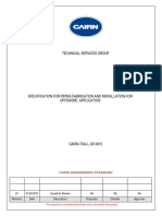 CAIRN-TSG-L-SP-0015-A1-Specification for Piping Fabrication and Installation for Offshore Application.pdf