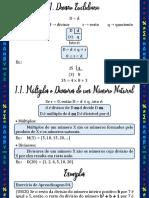 Aula 01 - 1ª Série - A02 Divisibilidade, MMC e MDC I - Slides