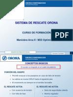 22-05.- Formacion didactica rescate Orona M33 Optimizado