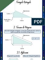 Aula 02 - 3ª Série - C06 Trigonometria no Triângulo Retângulo - Slides