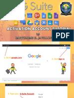 G-Suite Activation Account