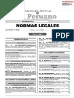 TODAS LAS NORMAS LEGALES DEL PERU  09 DE JUNIO DEL 2020