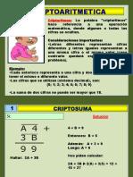 criptoaritmeticaysucesionesnumericas-170413193226