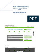 Presentación Portafolio Aprendiz-2018.